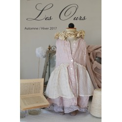 robe NOEMIE KID lin rose