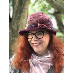 chapeau BETTY rose