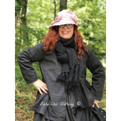 scarf ABYGAELLE in black wool