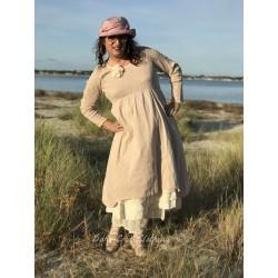 robe CAMILLE popeline de coton rose