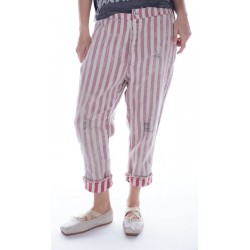pantalon Sid in Big Top Red