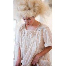robe Linnea in French Vanilla