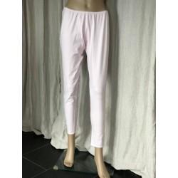 legging DAMIEN rayé rose