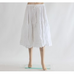 TULIP skirt WHITE