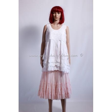 robe KELLY blanc