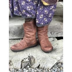 boots EXIT in cognac