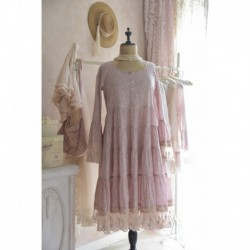 robe Romantic Mind en rose thé