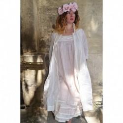 robe FLORIE coton carreaux rose