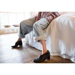 pantalon Stripe Overall in J. Gray