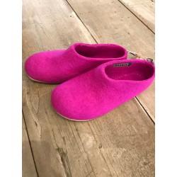 slippers GUS dark pink