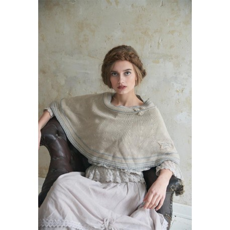 poncho Warm feelings en beige
