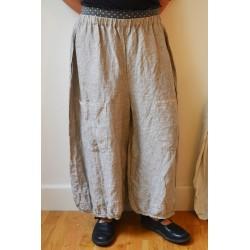 Panty TIMOLEON lin rayé noir