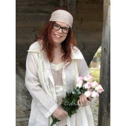 bandeau CELESTE coton carreaux rose