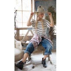 T-shirt New Boyfriend in Picassos Stripe