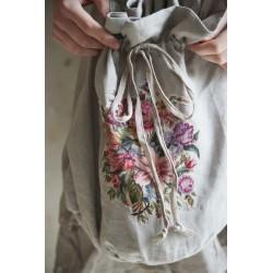 sac Natural sense en lin mocca