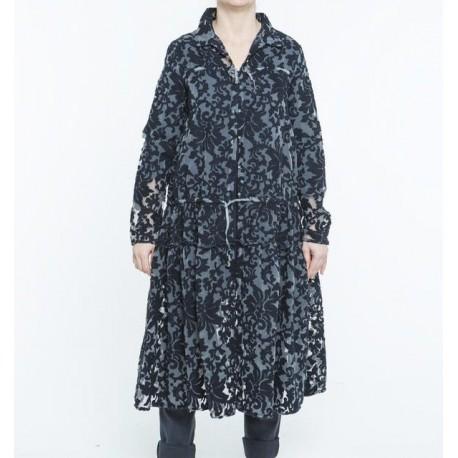 coat KIOWA midnight blue