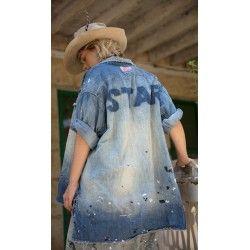 chemise Adison Workshirt in Bold Star