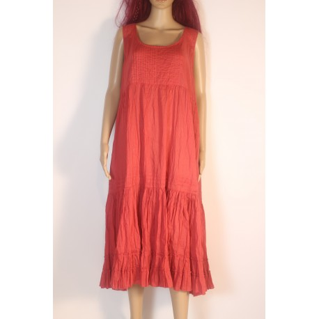 Dress CUSCUS red
