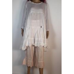 Robe/Tunique AZALEA Blanc