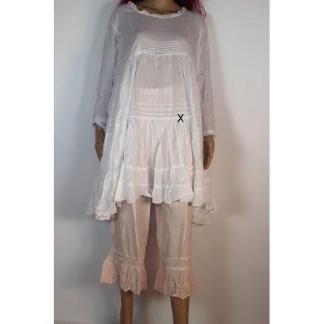 Robe Tunique AZALEA Blanc