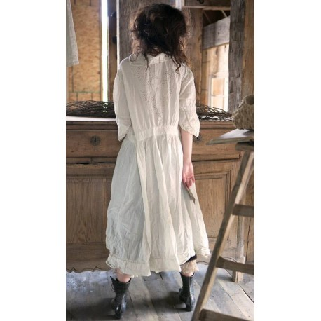robe Maelee blanche