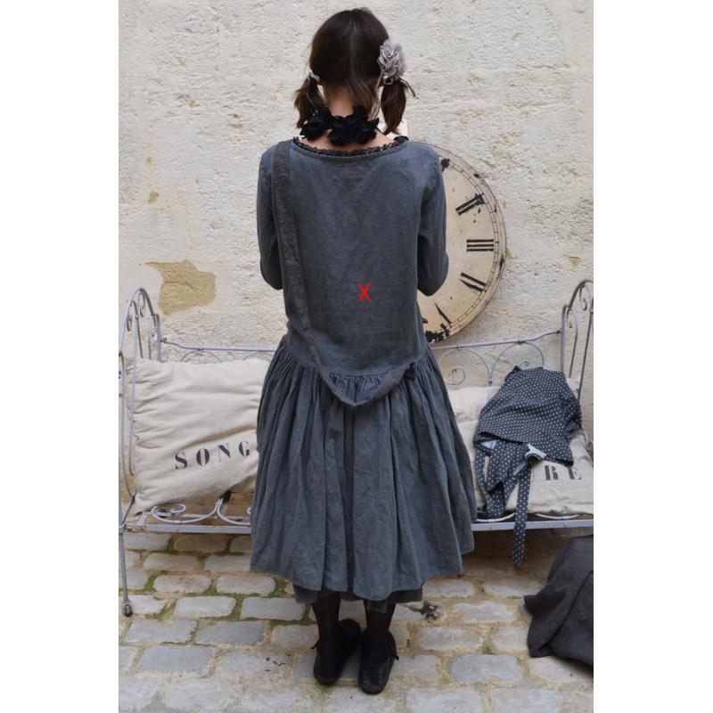 Dress élisia Plain Grey