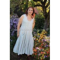 robe RANGILA blanc cassé