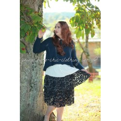 skirt SILT midnight blue