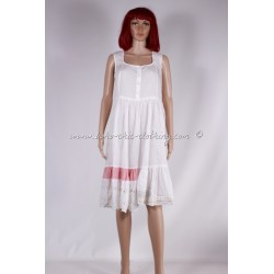 robe AIDA blanc cassé