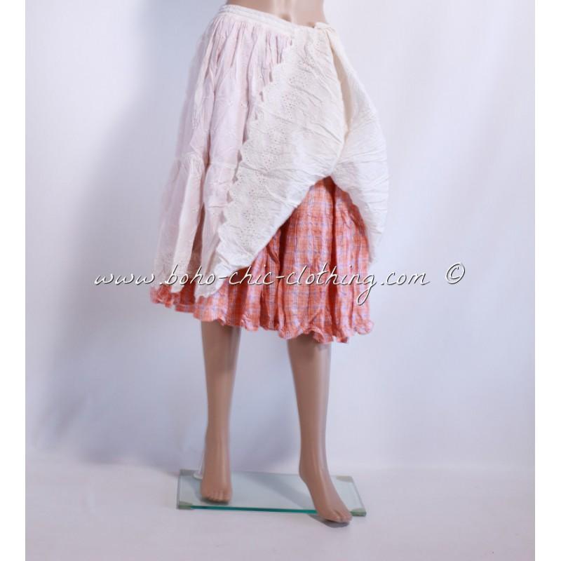Plus la taille jupe boho