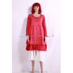 Dress Tunic RUANDA red