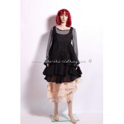 Dress/tunic ANTOINETTE black organza