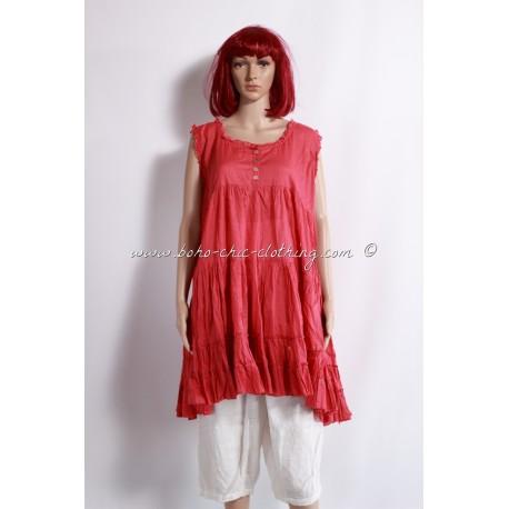 Tunique ANGELICA rouge