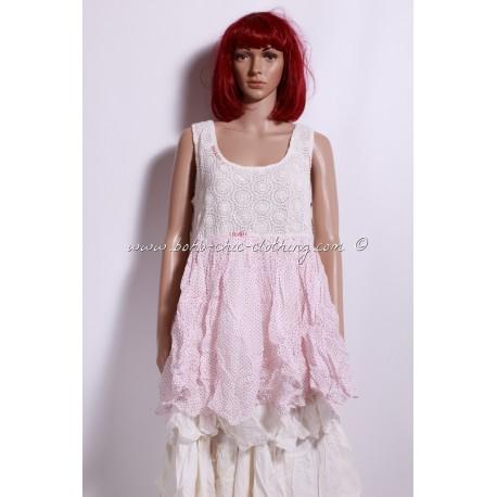 robe DOT pois rouge