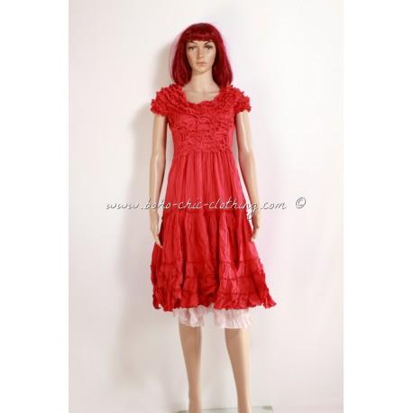 robe MORENA rouge