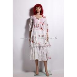 robe NAMA blanc cassé