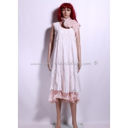 dress ADELIA white