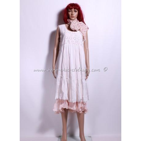 robe ADELIA blanc