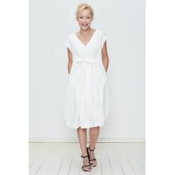 robe CARDAMINE blanc
