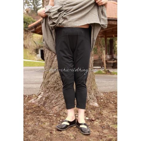 pants ASAGAO black