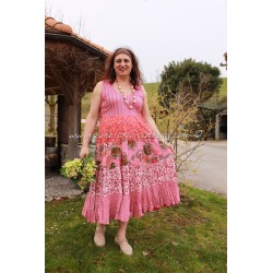 dress PAOLINE fuchsia
