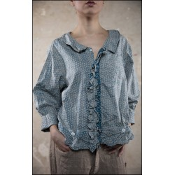 blouse Kenzie bleu