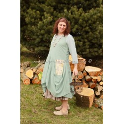 robe ANEMONE turquoise