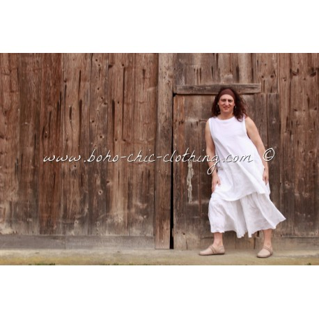 jupe-pantalon UME blanc