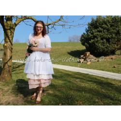 robe LOUISE blanc