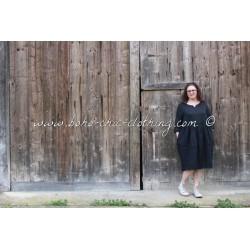 robe ACHILLEE noir