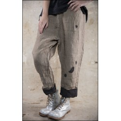 pants Emmerson Work in Wilford Linen