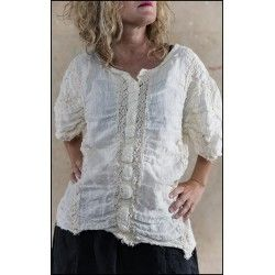 top Kylli in Antique White