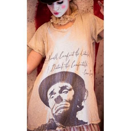 T-shirt E. Kelly in Mink