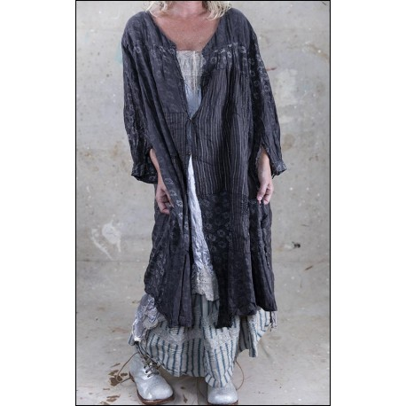 robe Helaine in Grey Chalk